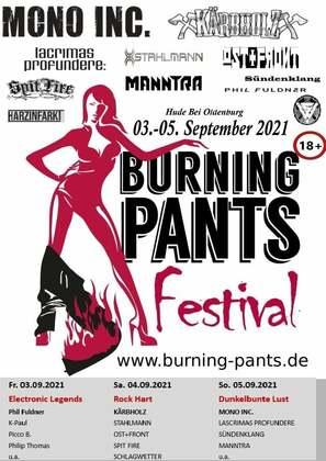 burning pants festival 2021